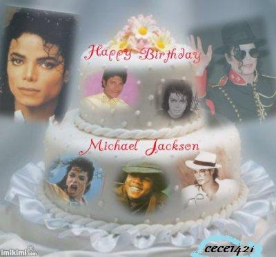 3> Bonne  Anniversaire mon ange Michael Jackson  <3