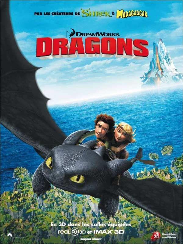 fan de Dragons ? d'Harry Potter ?