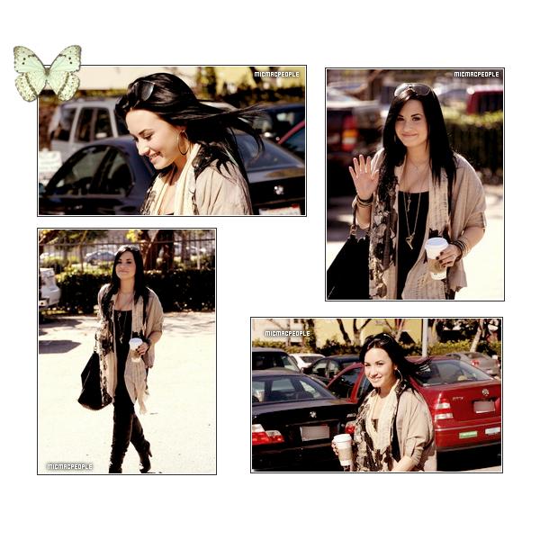 ₪  Demi Lovato  est enfin sortie de sa cure ce 28 .O1.2O11 . On espère pour elle que sa ira (: