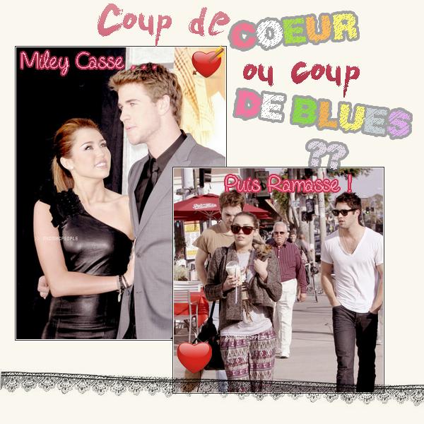 ₪ MicMacPeople fait le point sur les relations amoureuses de Miley Cyrus . Pour le moment elle traine beaucoup avec Joshua pourquoi ? Pour oublier Liam ou Par amours ?