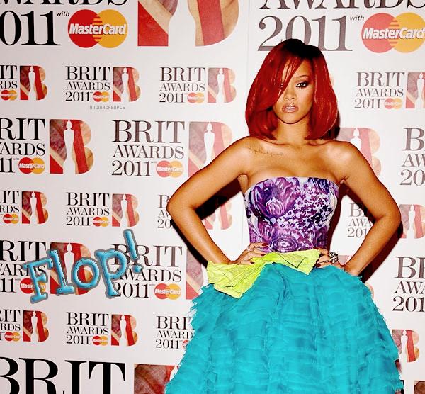 ₪  Brits Awards 2011 . J'ai pris un Top et Un Flop vous en pensez quoi ? (:
