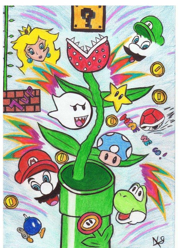 Le dessin , une de mes passions.