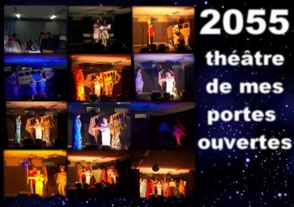 """Mes portes ouvertes ( Théâtre ) thème """"2055"""""""