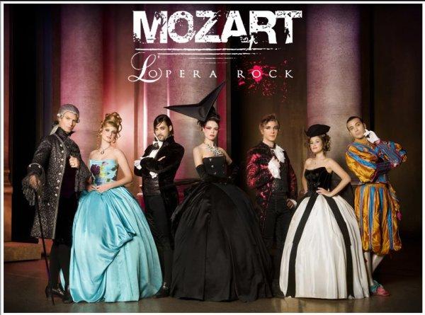 Mozart l'Opéra Rock: Le concert