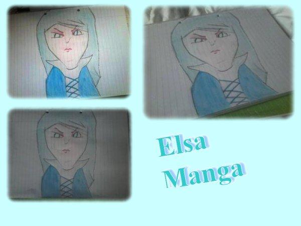 Elsa - Manga