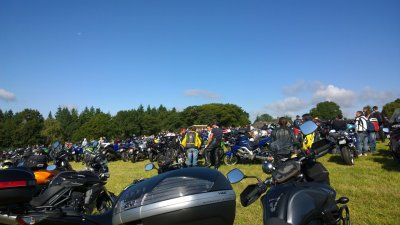 Porcaro,benediction des motards