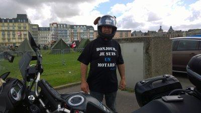 Bonjour,je suis un motard