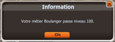 New ! UP ! Boulanger ! LVL 100 !