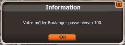New ! UP ! Boulanger ! LVL 100 !