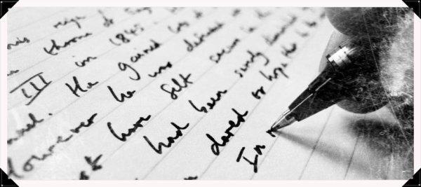 La torture de l'écriture
