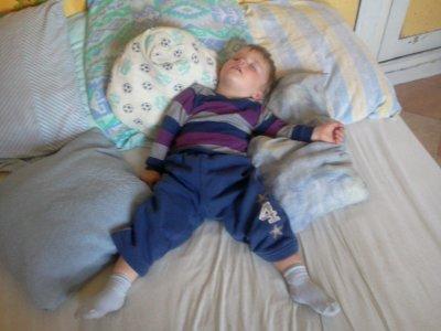 Toujours mon neveu entrin de dormir :D