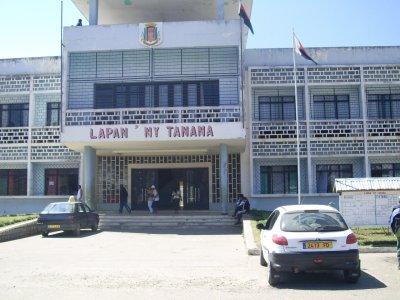 La mairie de Fianarantsoa