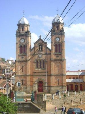Cathedrale de Tanana ambony
