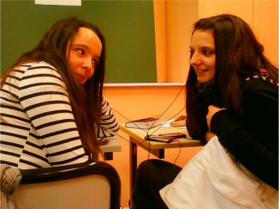 Mathilde & Mallaury. ♥