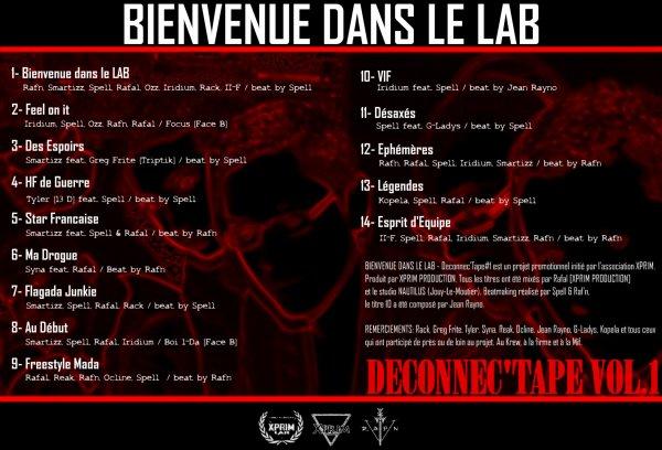 DECONNEC'TAPE / Smartizz, Spell, Rafal, Iridium - Au début (2012)