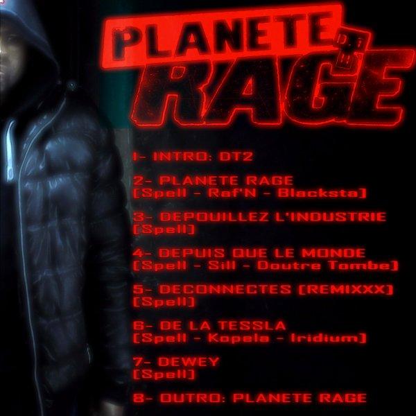 DT2! Planète RAGE / 2- Planète RAGE - Spell Ft Blacksta & Raf'N (2016)