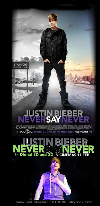 Never say Never the Movie