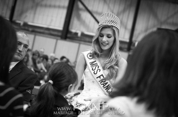 Camille Cerf - Election Miss Nièvre