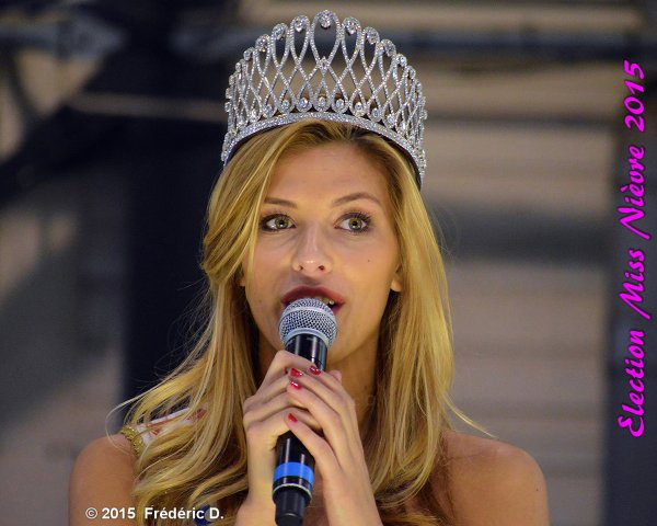 Camille Cerf -  Election Miss Nièvre
