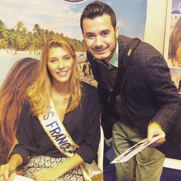 Camille Cerf - Salon mondial du tourisme
