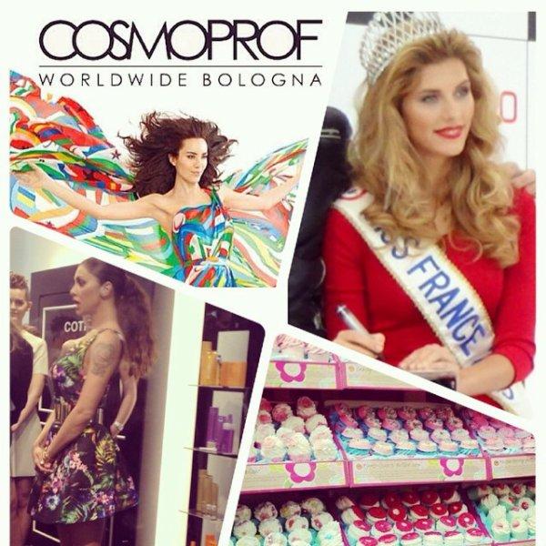 Camille Cerf - Salon Cosmoprof Bologne