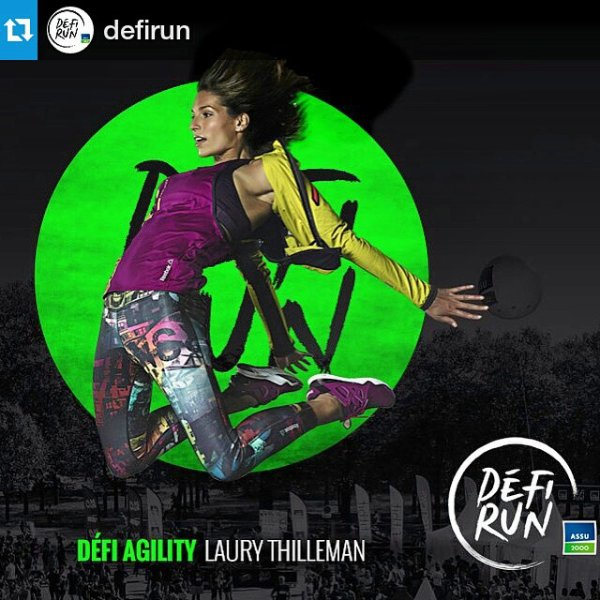 Laury Thilleman - Défi run