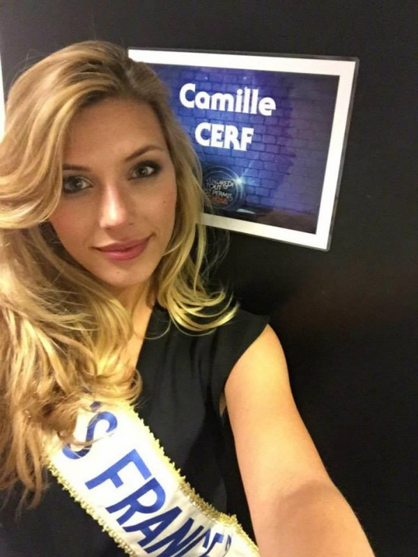 Camille Cerf - Tournage Vendredi tout est permis