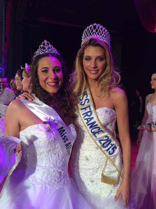 Camille Cerf - Election Miss Allier
