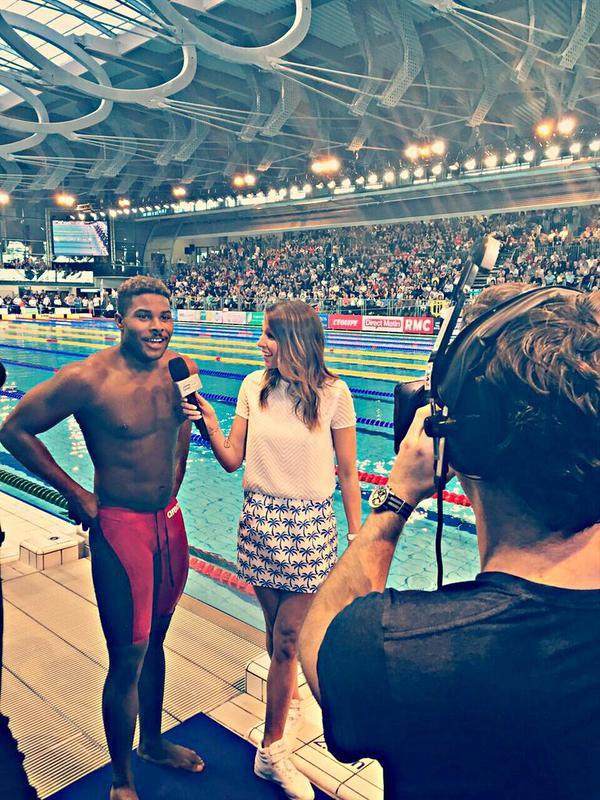 Laury Thilleman - Championnats de France de natation