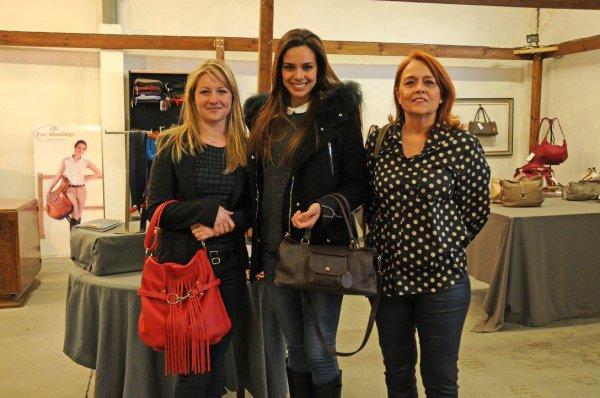 Marine Lorphelin - Visite partenaires Comité Miss Rhone Alpes