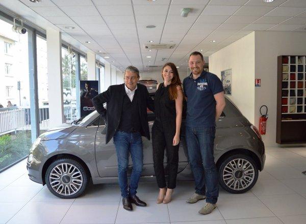 Rachel Capoue - Partenariat Motor Village France