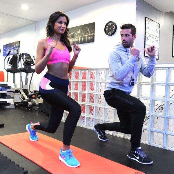 Malika Ménard - Sport