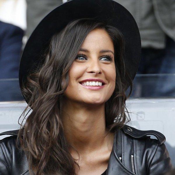 Malika Ménard - Match PSG / Losc