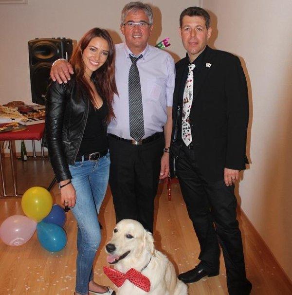 Delphine Wespiser - 60 ans de son papa
