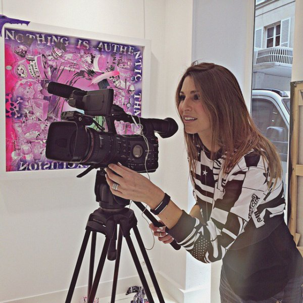 Laury Thilleman - Tournage atelier David Cinstract