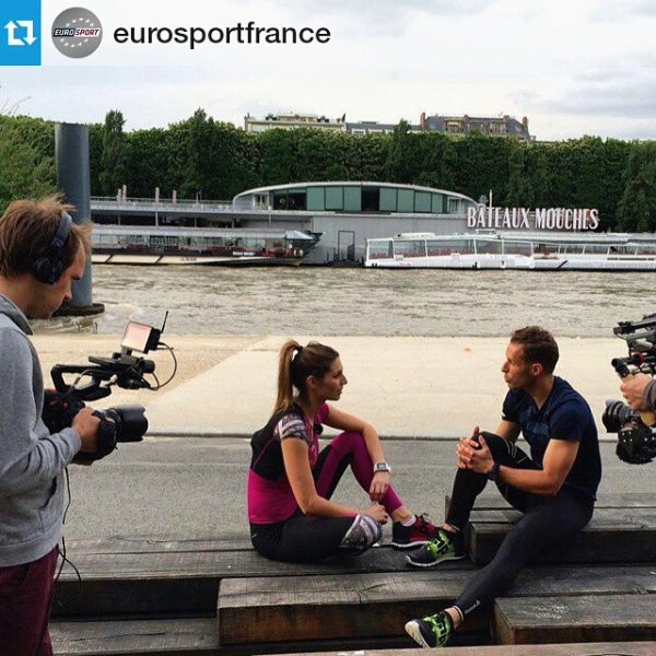 Laury Thilleman - Tournage Sport  in the city