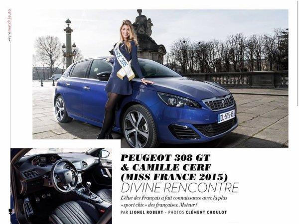 Camille Cerf - Paris Match