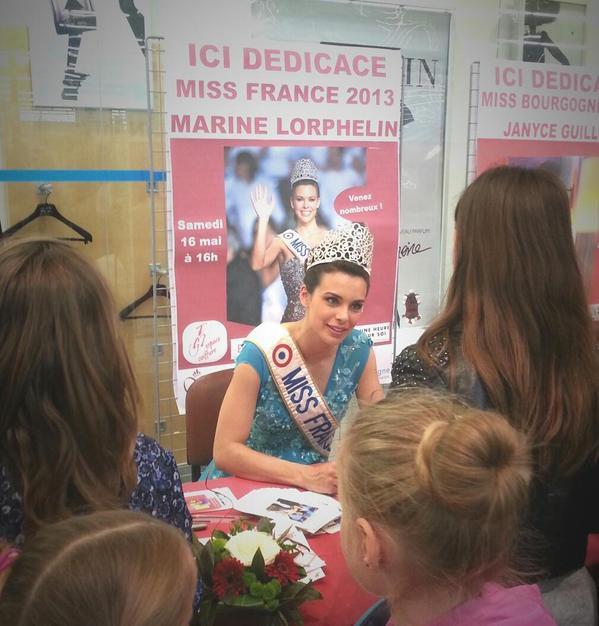 Marine Lorphelin - Election Miss Yonne