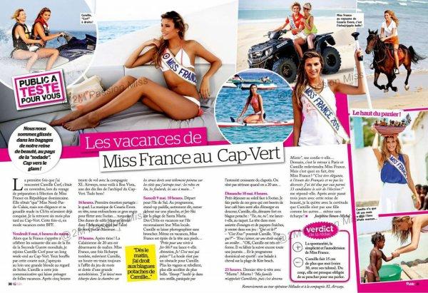 ღiss France 2015/ ex Miss France - Presse mai 2015