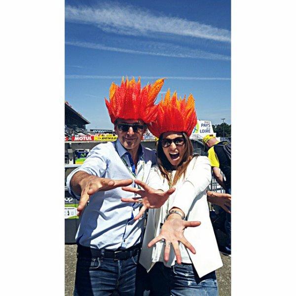 Laury Thilleman - Moto GP le Mans