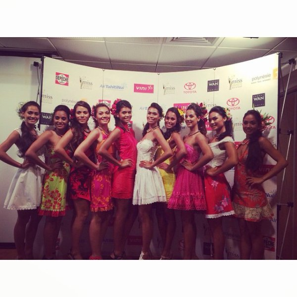 Election Miss Tahiti - Candidates