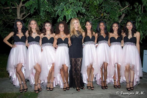 Election Miss Réunion - Candidates