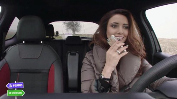 Delphine Wespiser - Permis de conduire