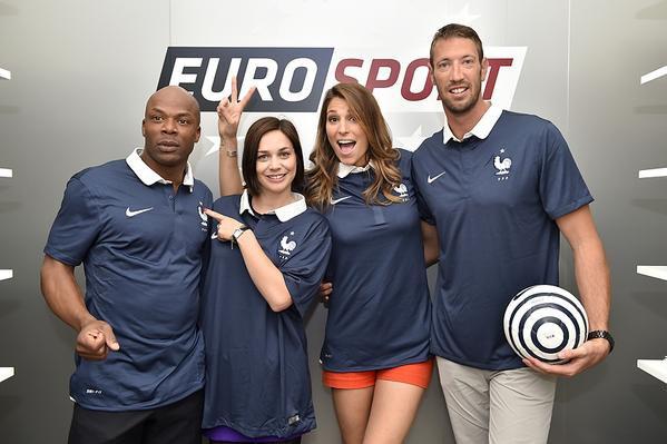 Laury Thilleman - Journée des consultants Eurosport
