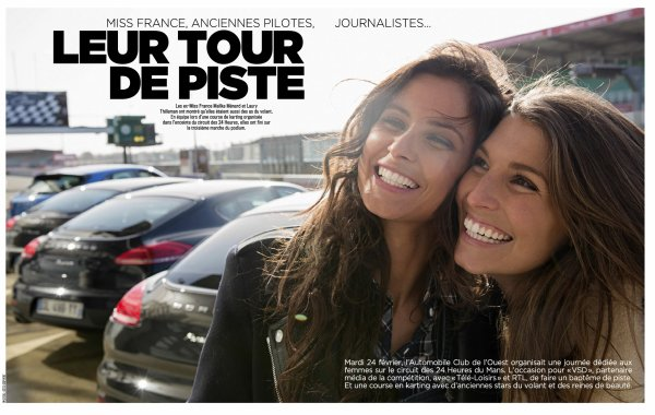 ღiss France 2015/ ex Miss France - Presse juin 2015