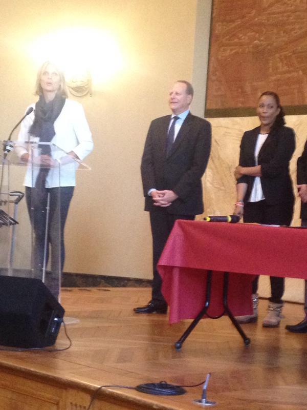 Sylvie Tellier - Charte de la monoparentalité