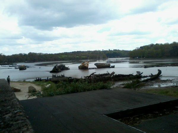 voici le cimetière des bateaux