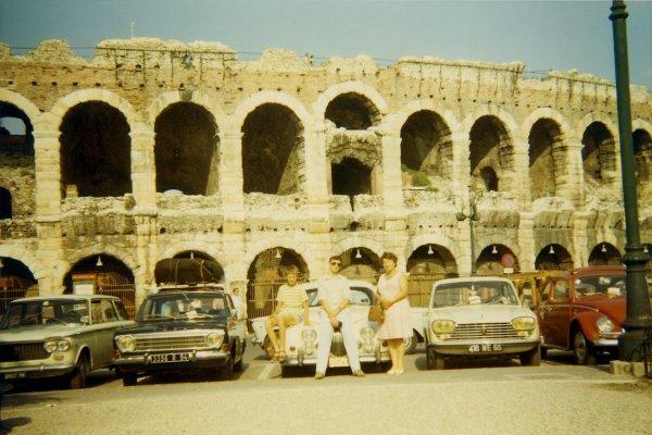 Voyage en Italie en famille en 1970...!