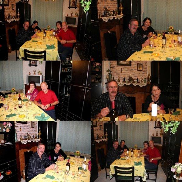 Petite journée et soirée passée en la charmante compagnie de nos Amis Yvette et Yves....!