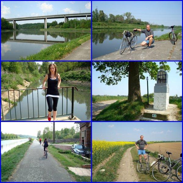 Promenades à vélo durant tout le grand week-end de Pâques..!